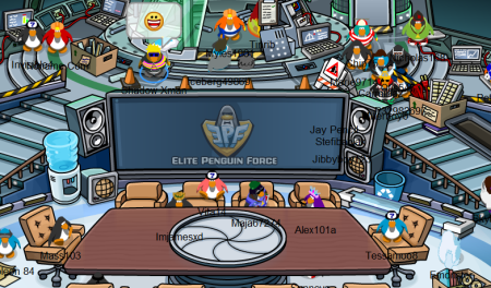 The New Elite Penguin Force HQ