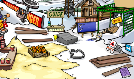 The New Ski Village -- For Now